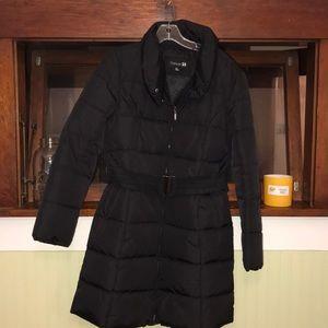 Forever 21 long puffer coat